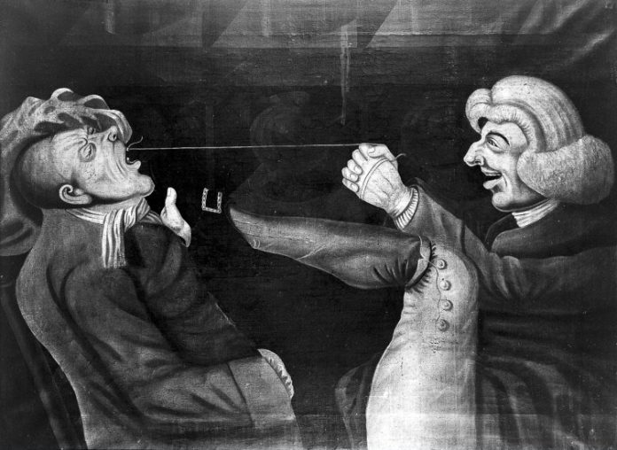 History of Dentistry: Tooth extraction in the past